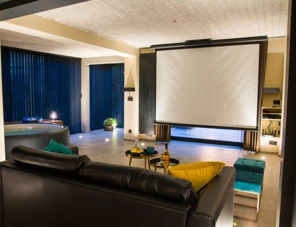 Salon + home cinema
